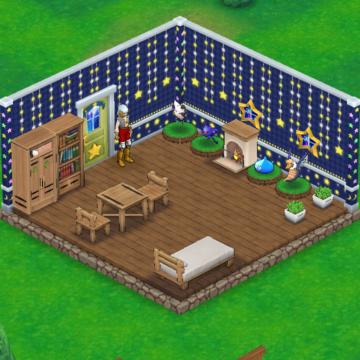 ドラゴンクエストウォークにアタの家を作りました