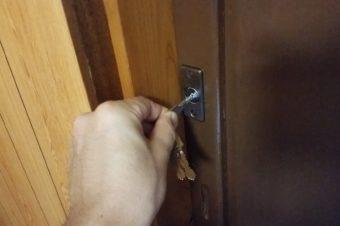 レンタルルームの部屋鍵工事完了!