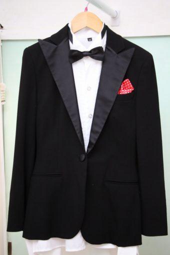 ラルフローレンタキシード/ブラック/高級ブランド/¥15000