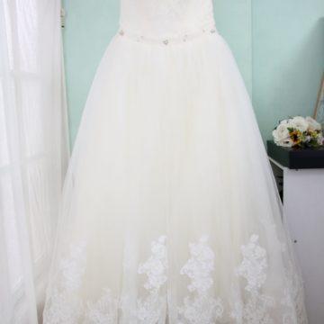 プリンセスドレス/オフホワイト/ふわふわかわいい/¥15000
