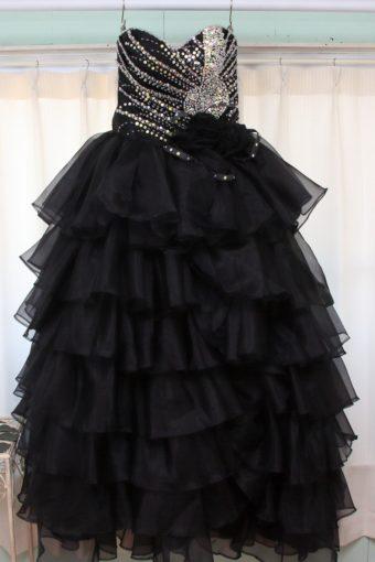 カラードレス/ブラック/華やか/¥10000